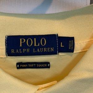 Ralph Lauren Shirts - RALPH LAUREN PIMA SOFT TOUCH POLO